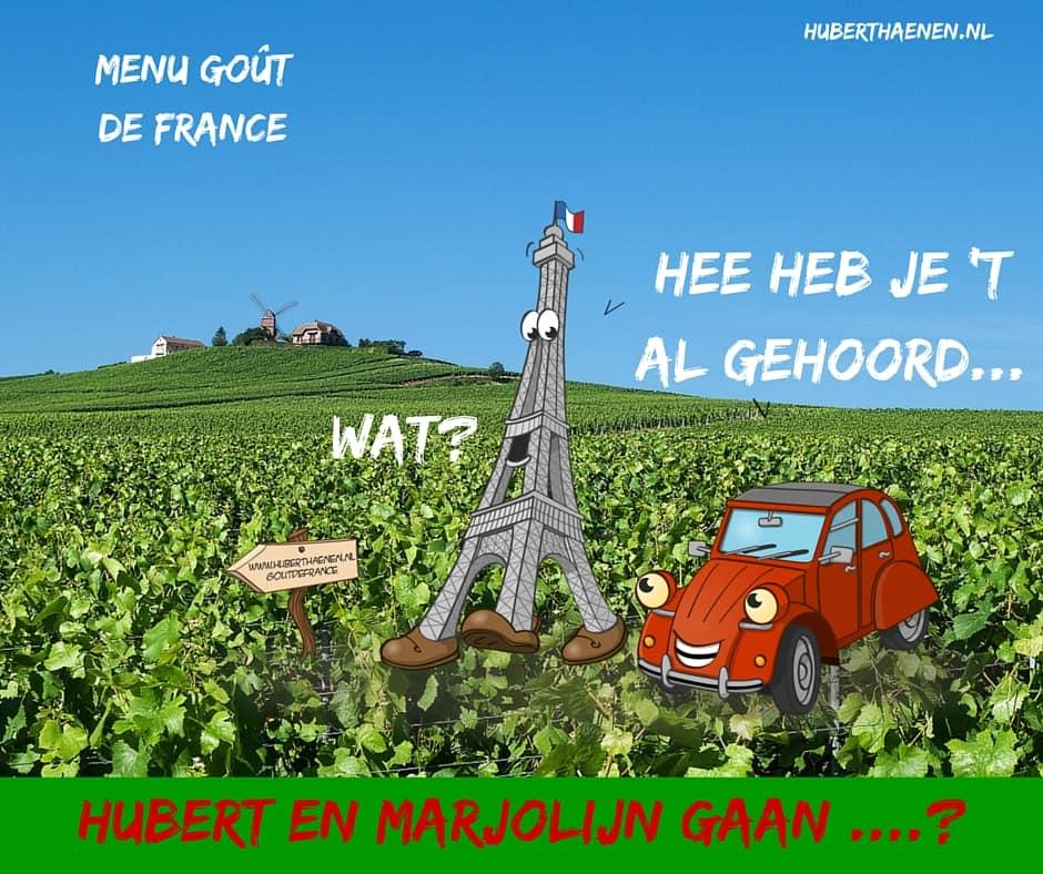 Hubert en Marjolijn gaan ...