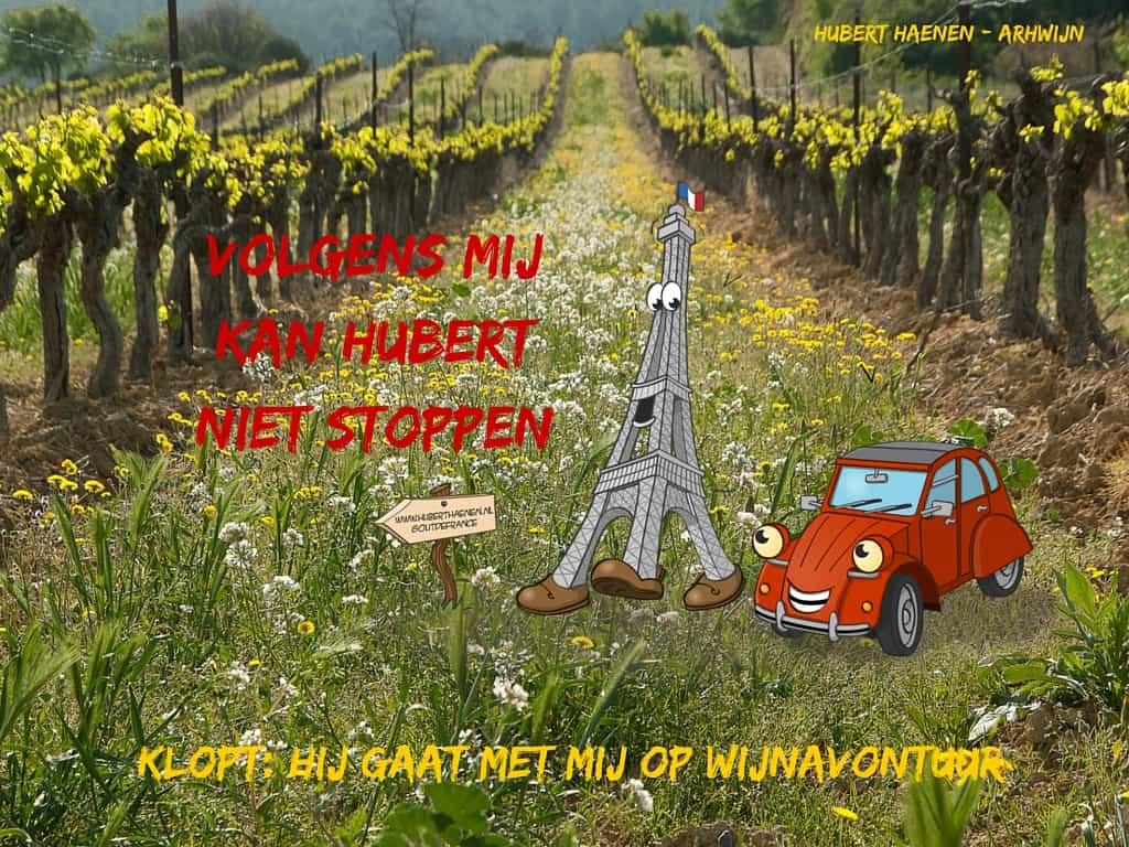 Avonturen van Eiffel en Eend volgens mij kan Hubert niet stoppen