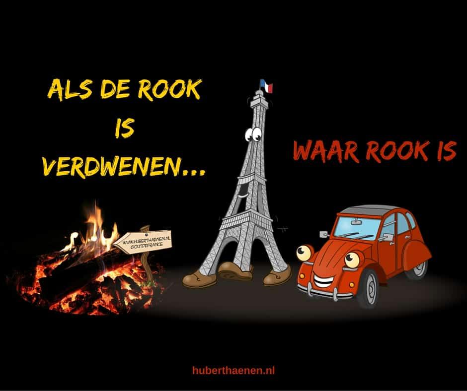 Avonturen van Eiffel en Eend waar rook is