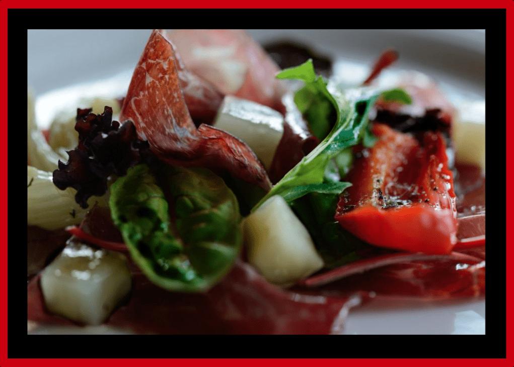 Foodfoto's van Arno met  Hubert's aantekeningen over de kunst van het koken